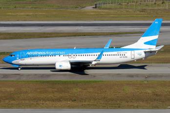 LV-CXS - Aerolineas Argentinas Boeing 737-800