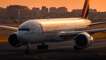 A6-EWG - Emirates Airlines Boeing 777-200LR aircraft