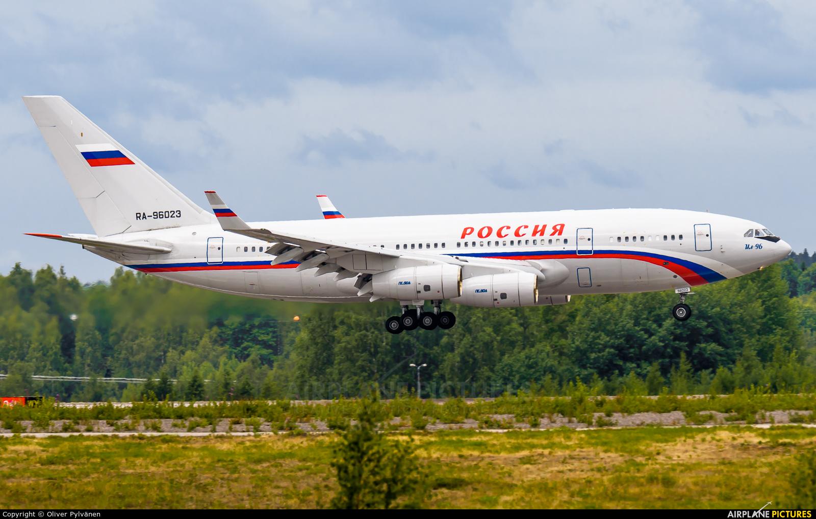 Rossiya Special Flight Detachment RA-96023 aircraft at Helsinki - Vantaa