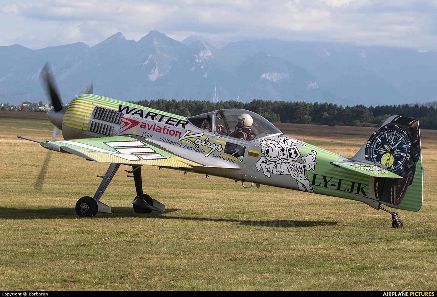 Private LY-LJK aircraft at Nowy Targ