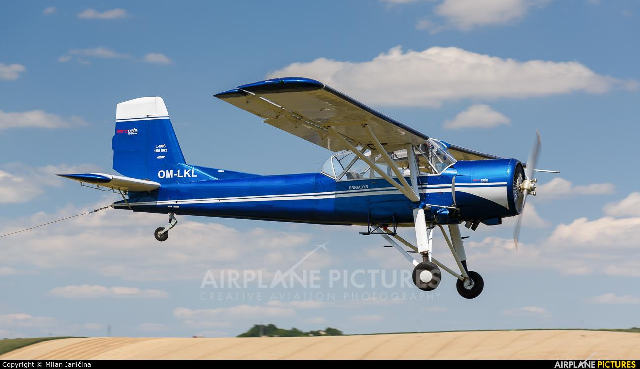 Aeroklub Nitra OM-LKL aircraft at Partizanske