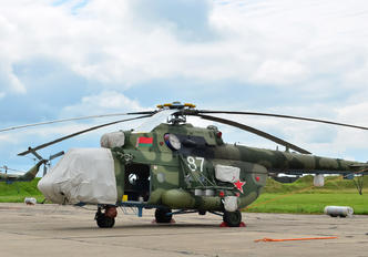 87 - Belarus - Air Force Mil Mi-8MTV-5
