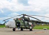 87 - Belarus - Air Force Mil Mi-8MTV-5 aircraft