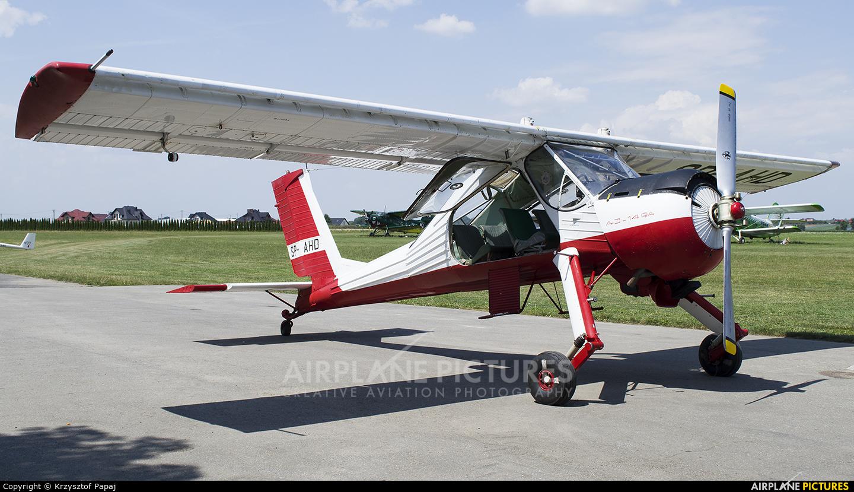 Aeroklub Krakowski SP-AHD aircraft at Kraków - Pobiednik Wielki