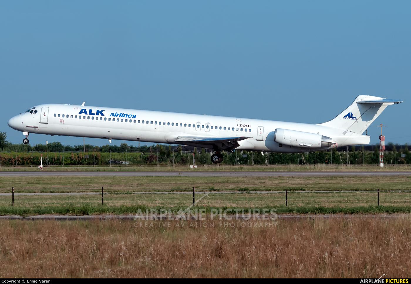ALK Airlines LZ-DEO aircraft at Verona - Villafranca