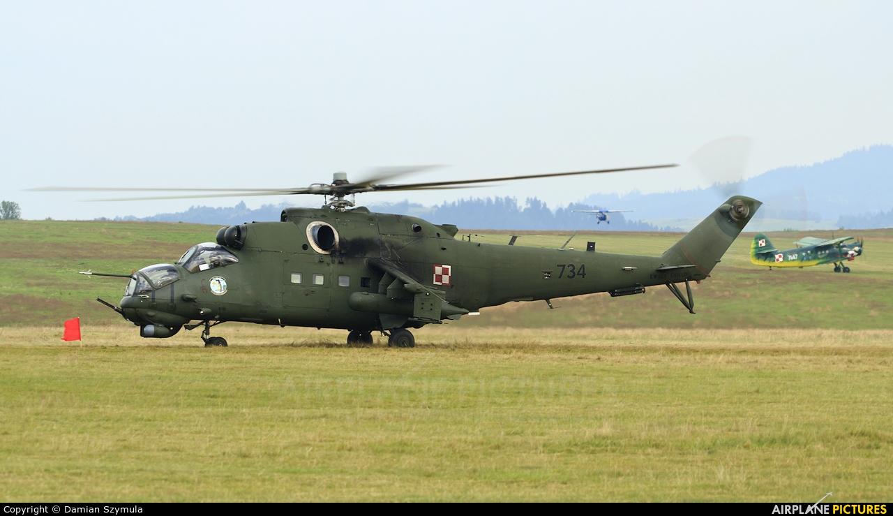 Poland - Army 734 aircraft at Nowy Targ