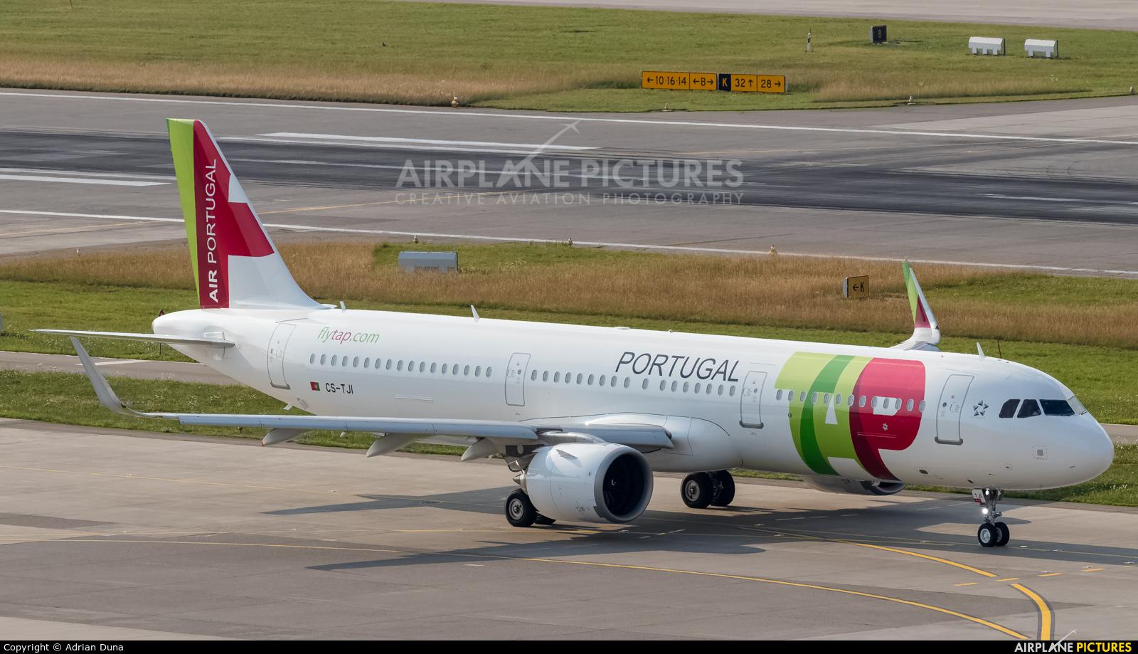 TAP Portugal CS-TJI aircraft at Zurich