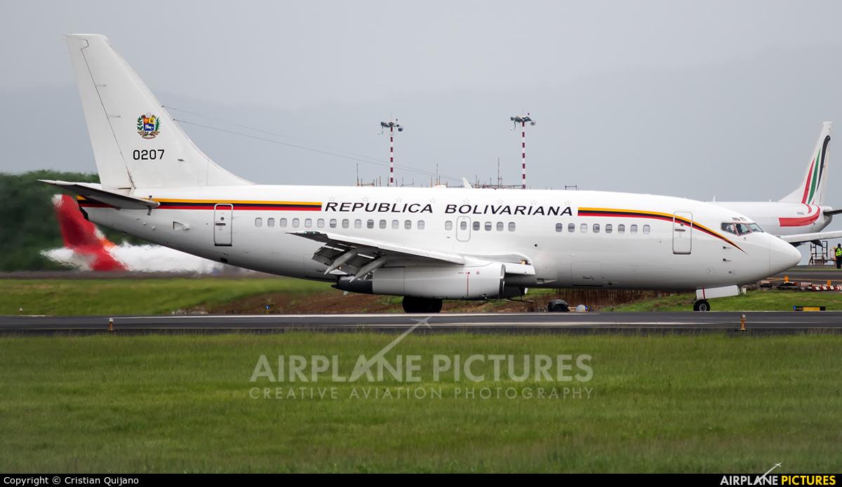Venezuela - Air Force 0207 aircraft at San Jose - Juan Santamaría Intl