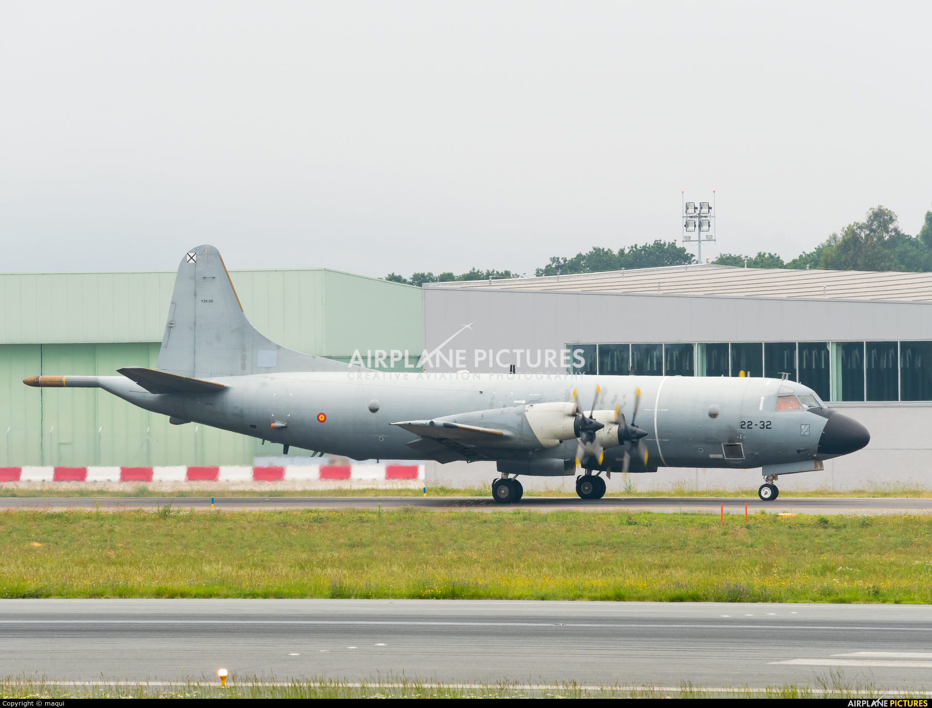 Spain - Air Force P.3M-09 aircraft at Santiago de Compostela