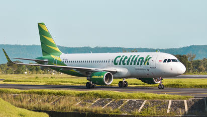 PK-GQJ - Citilink Airbus A320