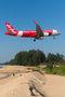 AirAsia (Thailand) Airbus A320 HS-BBQ at Phuket airport