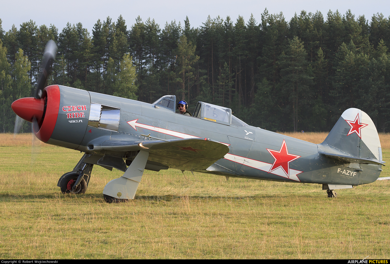 Private F-AZYF aircraft at Nowy Targ