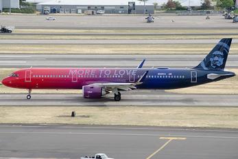 N926VA - Alaska Airlines Airbus A321 NEO