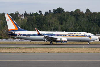PH-AQF - Thailand - Air Force Boeing 737-800 BBJ