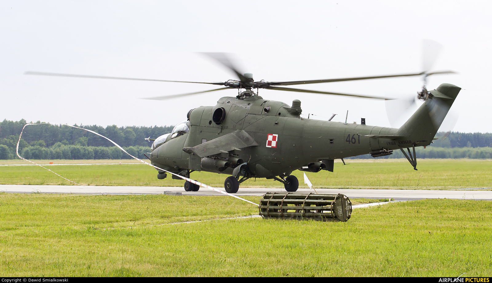 Poland - Army 461 aircraft at Świdwin