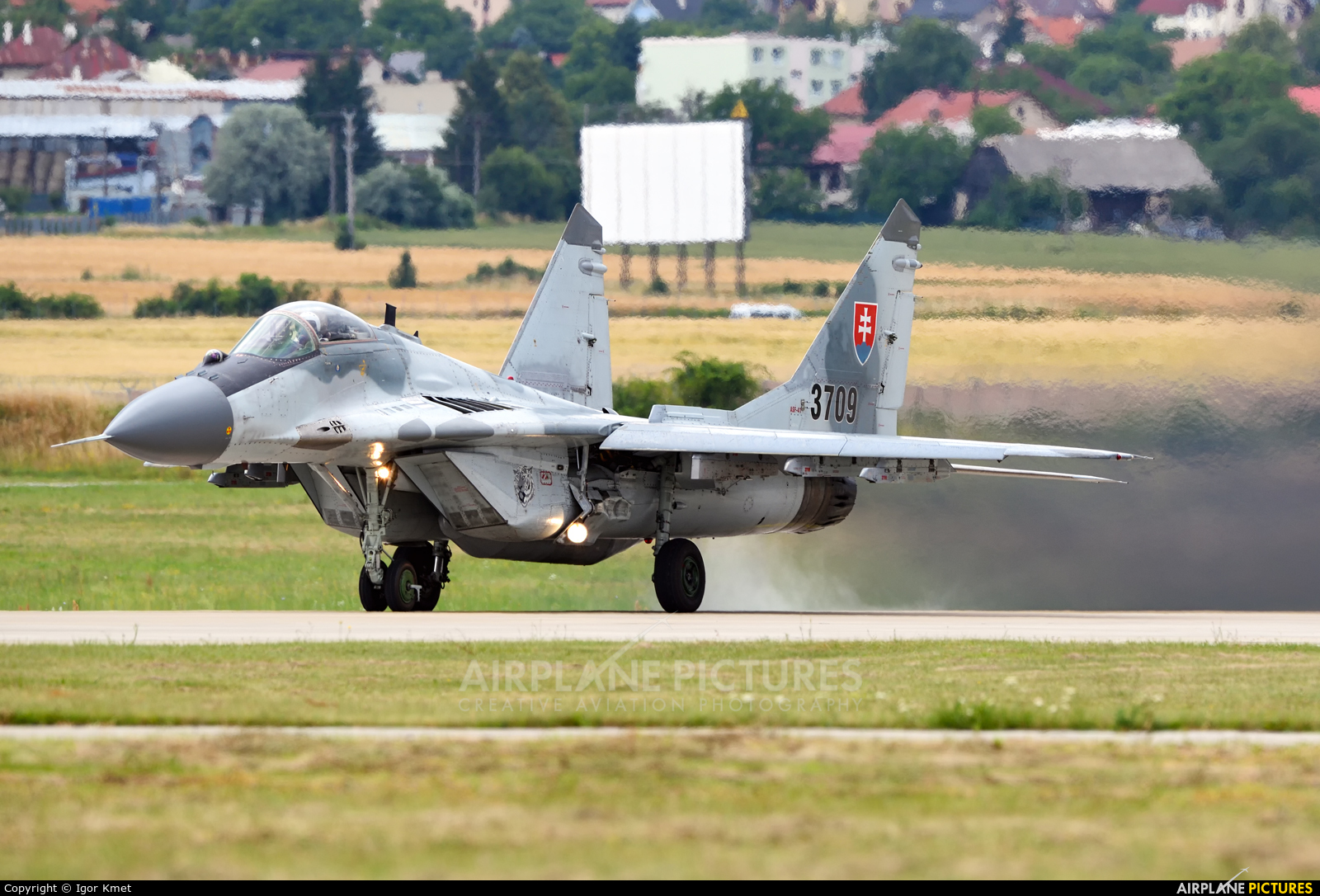 Slovakia -  Air Force 3709 aircraft at Sliač