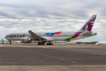 A7-BAX - Qatar Airways Boeing 777-300ER
