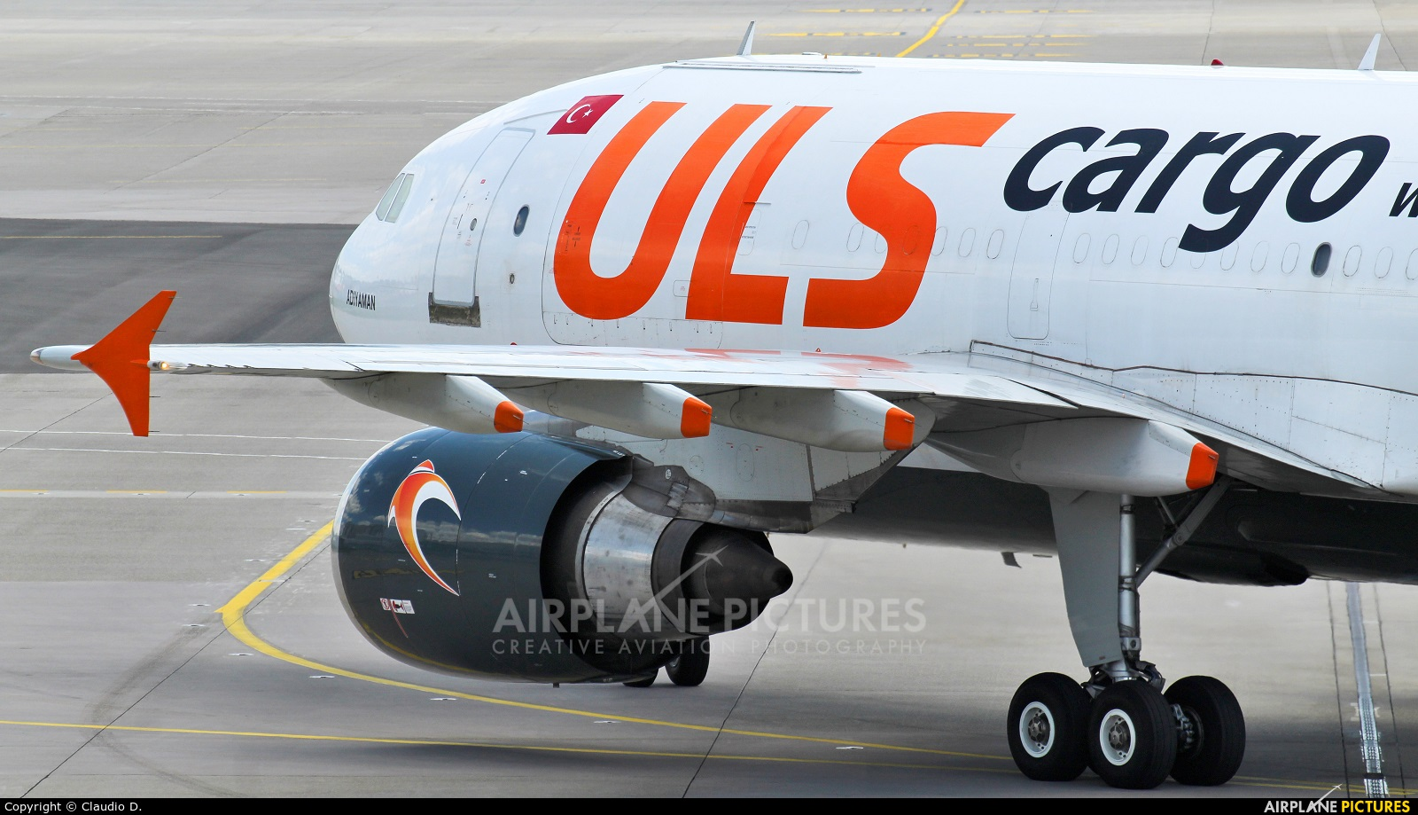 ULS Cargo TC-VEL aircraft at Zurich