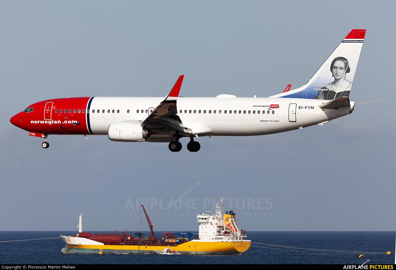 Norwegian Air International EI-FVN aircraft at Lanzarote - Arrecife