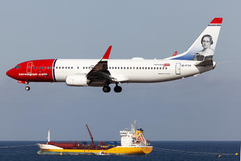 EI-FVN - Norwegian Air International Boeing 737-800