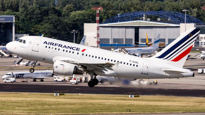 F-GUGL - Air France Airbus A318