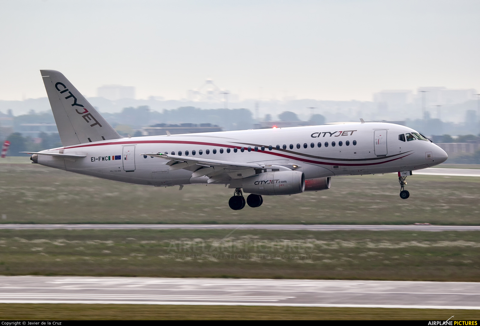 CityJet EI-FWC aircraft at Brussels - Zaventem
