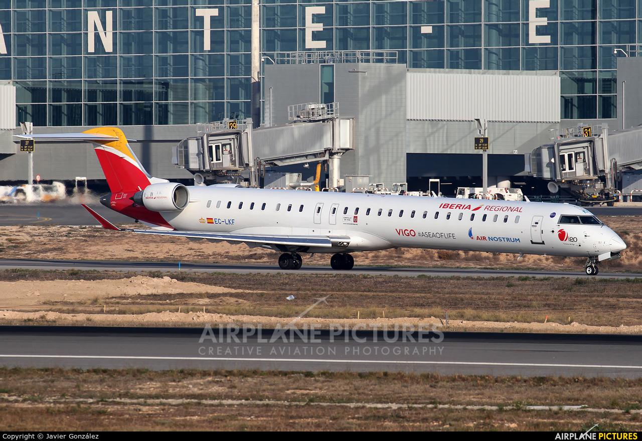 Air Nostrum - Iberia Regional EC-LKF aircraft at Alicante - El Altet