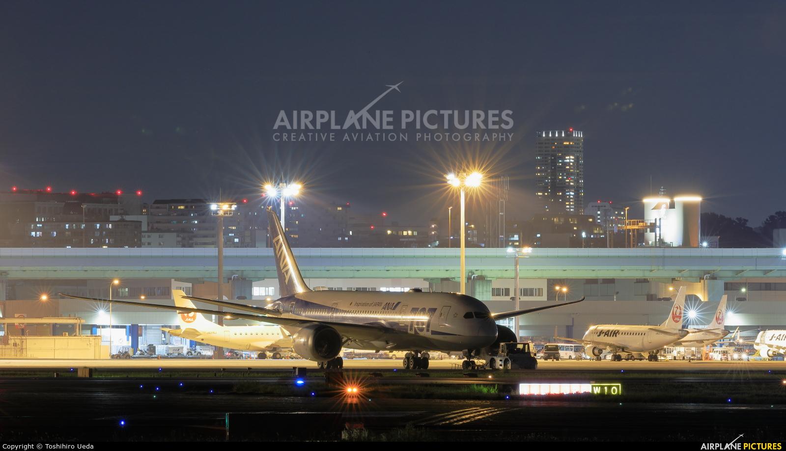 ANA - All Nippon Airways JA819A aircraft at Osaka - Itami Intl