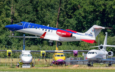 LX-RSQ - Luxembourg Air Rescue Learjet 45