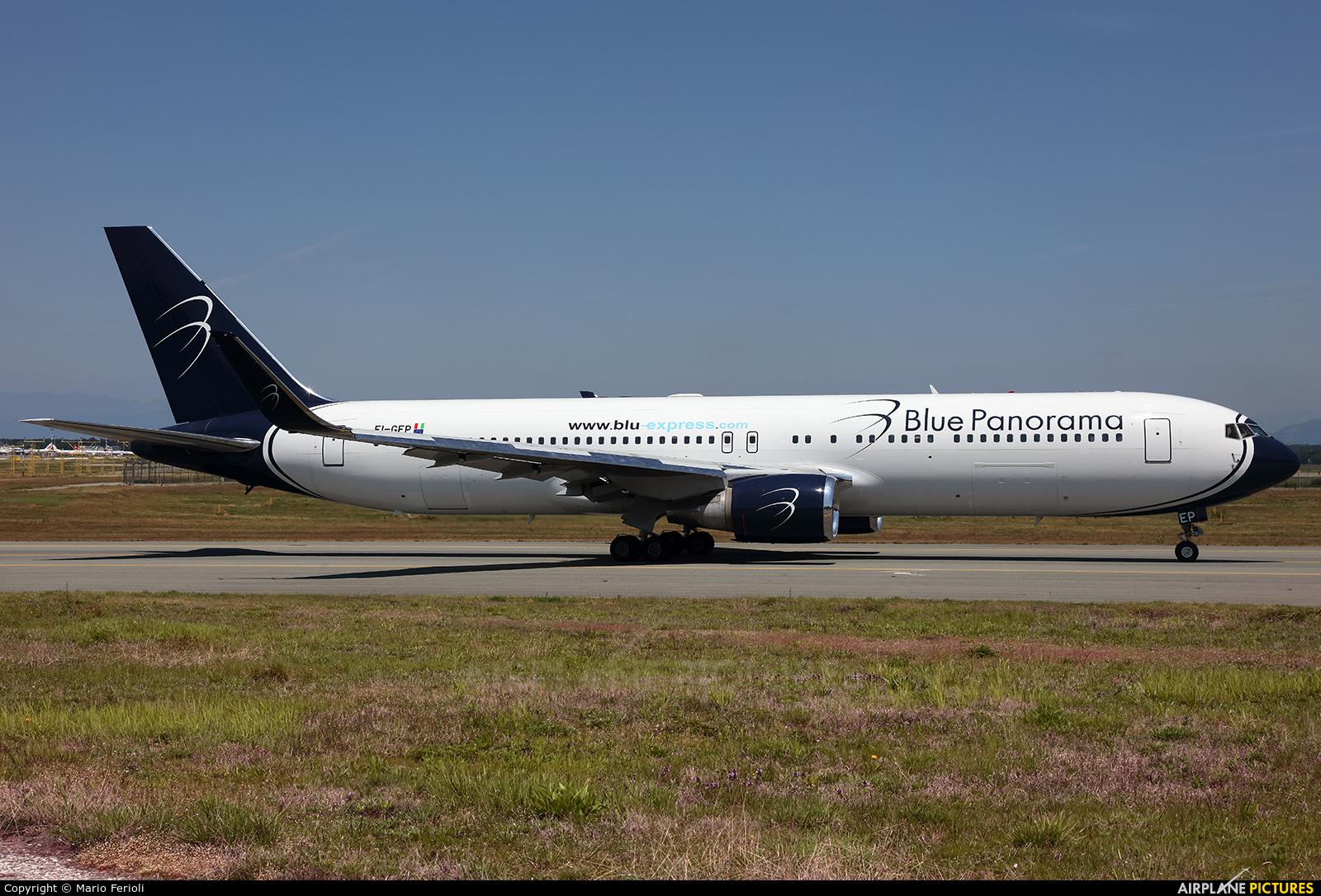 Blue Panorama Airlines EI-GEP aircraft at Milan - Malpensa