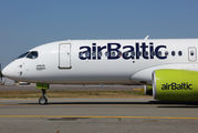 YL-CSC - Air Baltic Bombardier CS300 aircraft