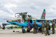 82 - Belarus - Air Force Sukhoi Su-25UB aircraft