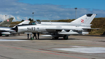 9483 - Poland - Air Force Mikoyan-Gurevich MiG-21bis