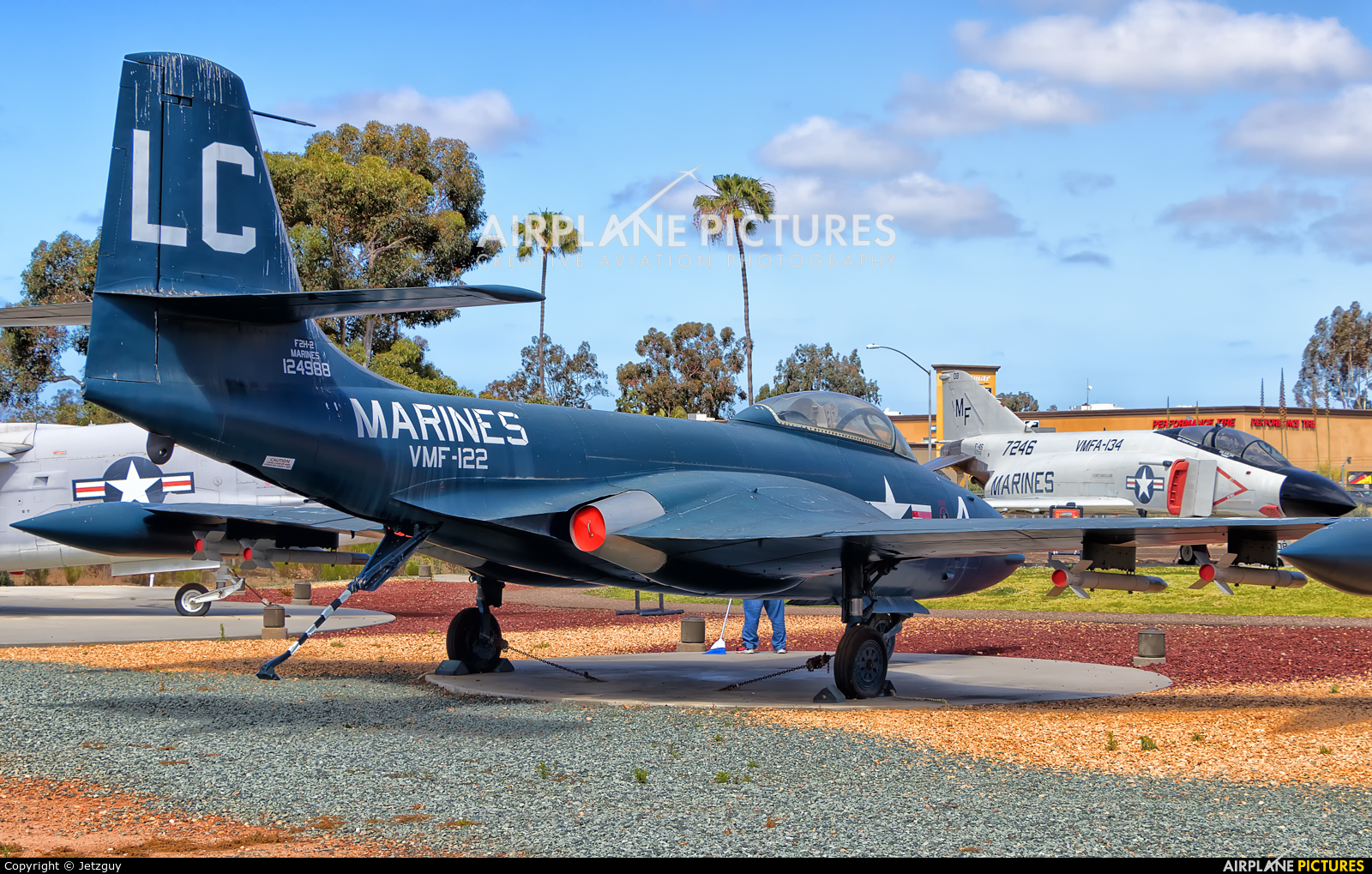 USA - Marine Corps 124988 aircraft at Miramar MCAS - Flying Leatherneck Aviation Museum