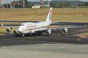 Royal Air Maroc Boeing 747-400 visited Brussels title=