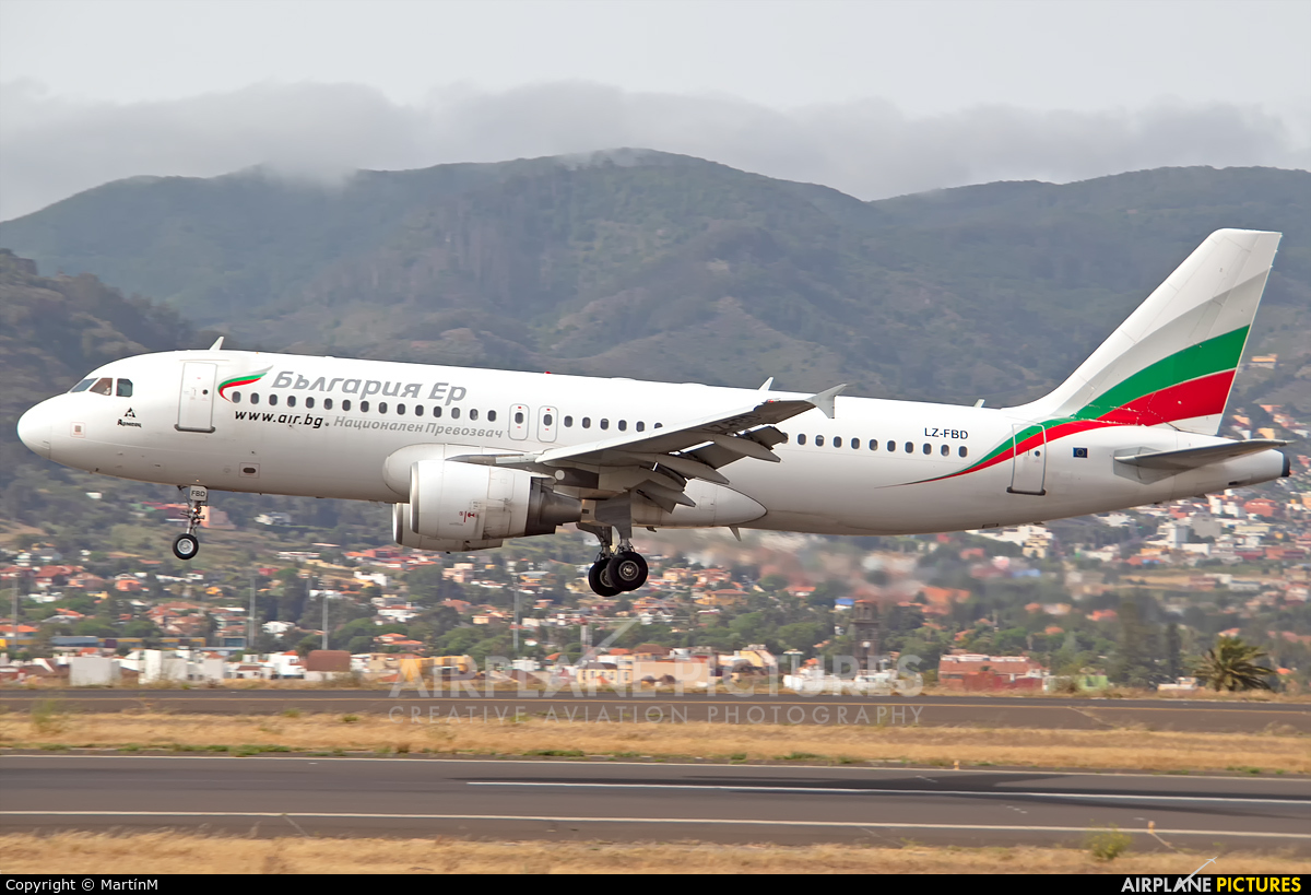 Bulgaria Air LZ-FBD aircraft at Tenerife Norte - Los Rodeos