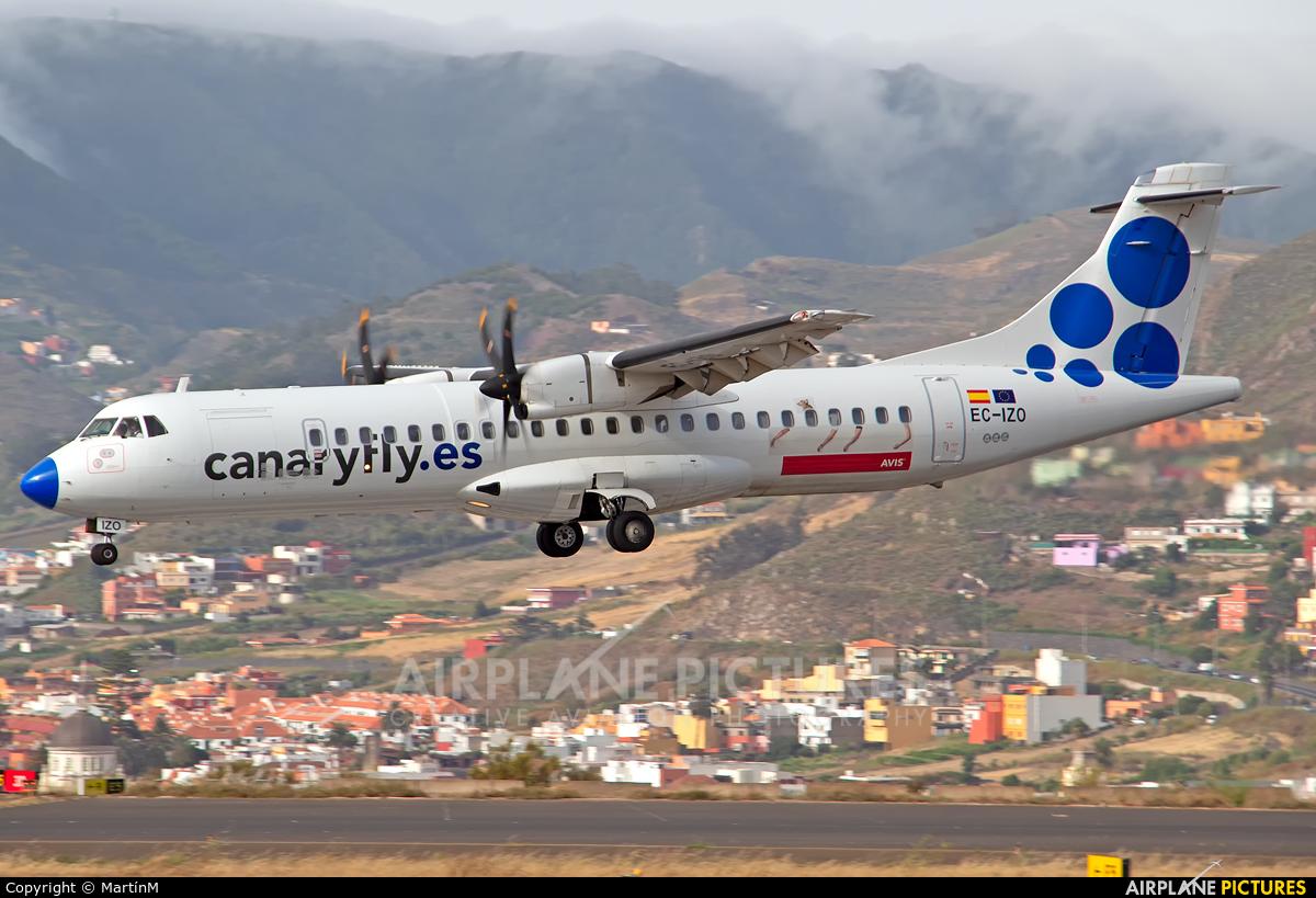 CanaryFly EC-IZO aircraft at Tenerife Norte - Los Rodeos