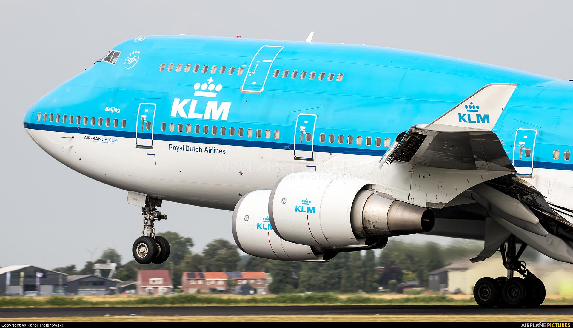 KLM PH-BFU aircraft at Amsterdam - Schiphol