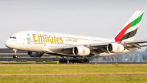 A6-EOC - Emirates Airlines Airbus A380 aircraft