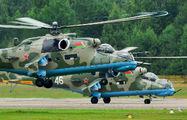 47 - Belarus - Air Force Mil Mi-24V aircraft