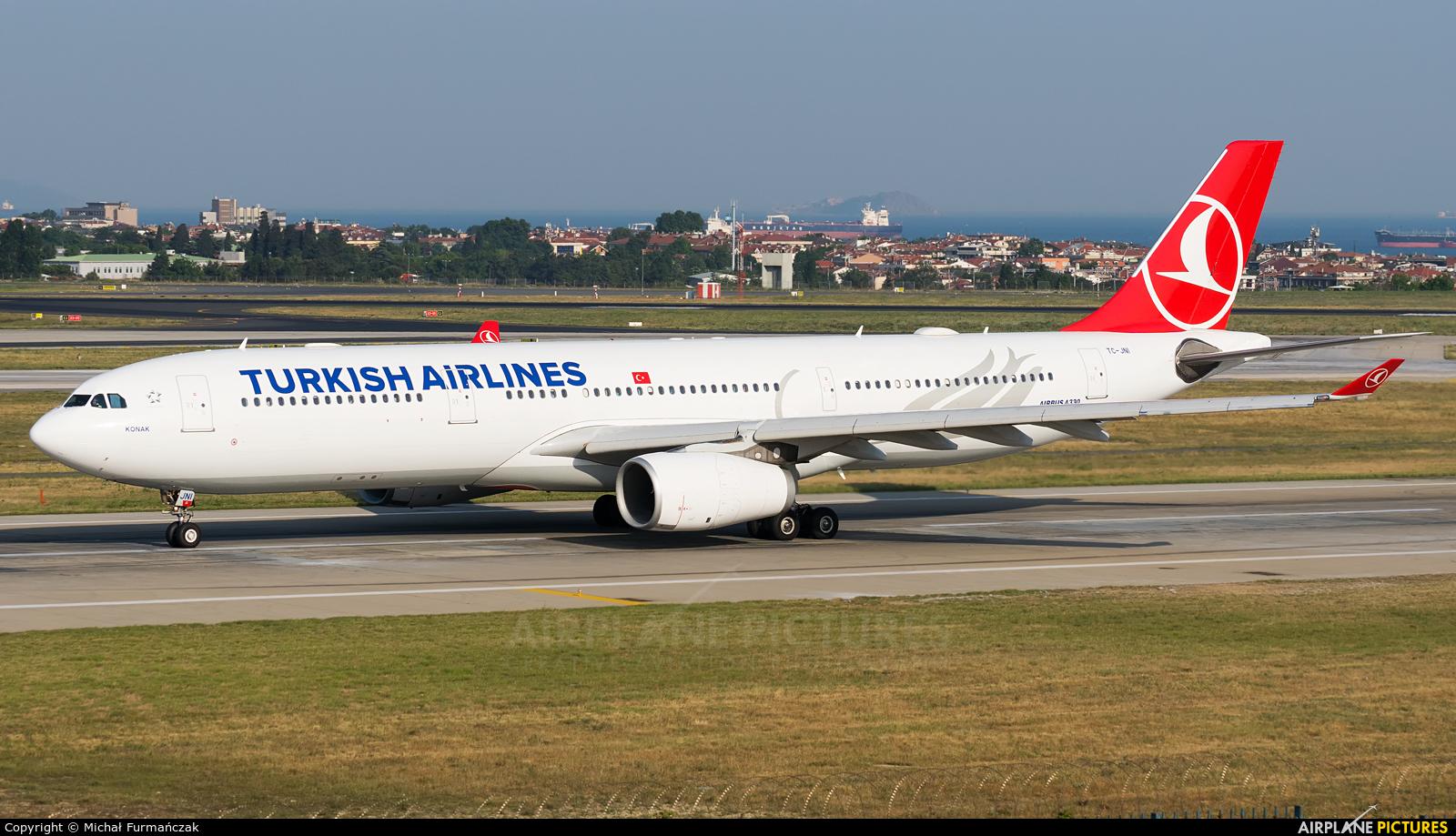 Turkish Airlines TC-JNI aircraft at Istanbul - Ataturk