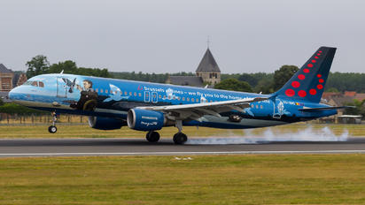 OO-SNC - Brussels Airlines Airbus A320