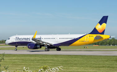 G-TCVB - Thomas Cook Airbus A321