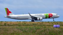 First visit of TAP A321neo to Azores Ponta Delgada title=