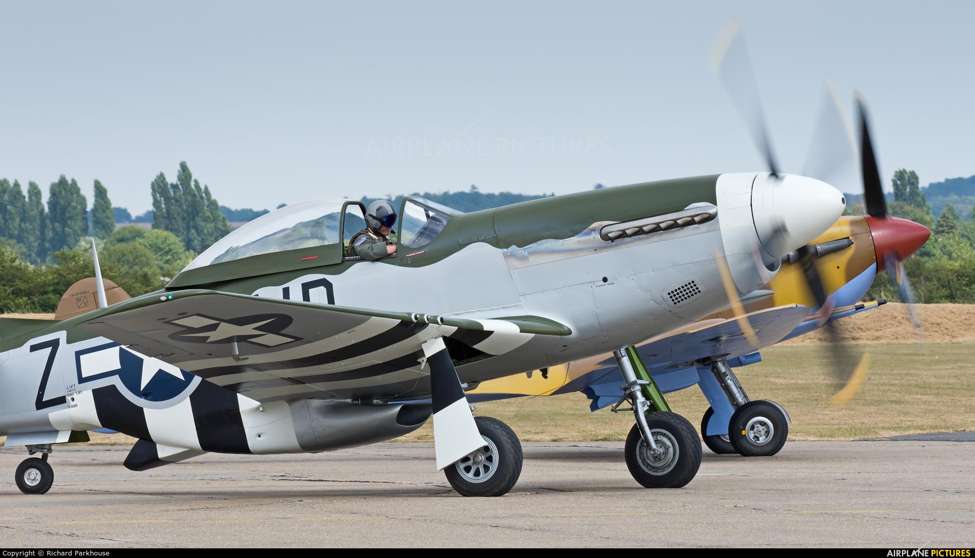 Private N351MX aircraft at Duxford