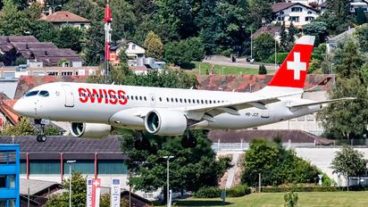 HB-JCE - Swiss Bombardier CS300