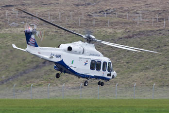 OY-HIH - Atlantic Airways Agusta Westland AW139