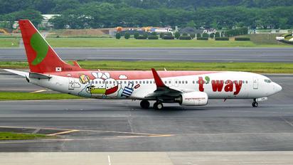 HL8294 - T'Way Air Boeing 737-800