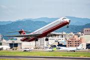 B-28007 - Far Eastern Air Transport McDonnell Douglas MD-82 aircraft