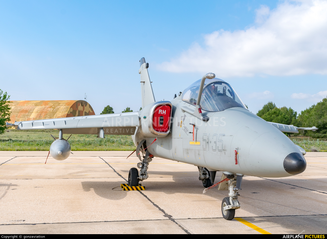 Italy - Air Force MM7196 aircraft at Albacete